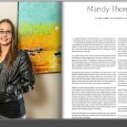 Mandy Thompson Golden Isles Magazine Artist Article Mixed Media